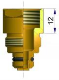 Удлинитель для металлического основания  12 мм R-1109-1